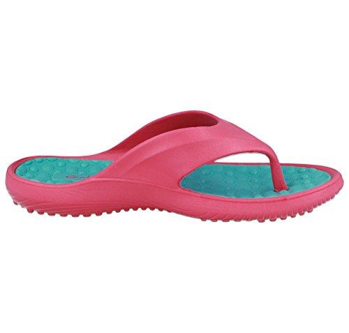 Turq Tongs en femme pour ou pour Pink piscine EVA plage FTqz47OFc