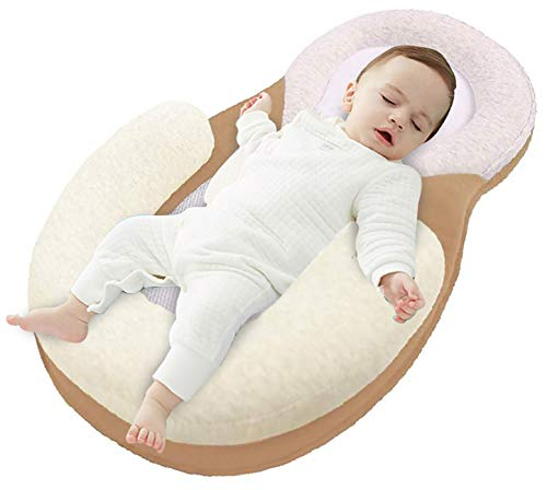 Newborn Baby Lounger Bed Breathable Portable Soft Bassinet Crib Sleeping