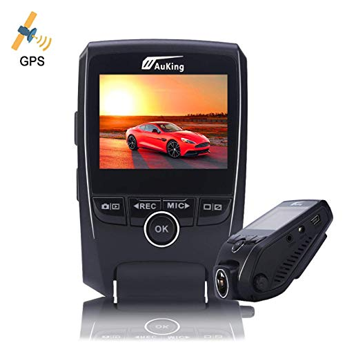 AuKing Dash Cam,1920 Full HD Hidden Car Camera,Dashboard Blackbox with 2.4