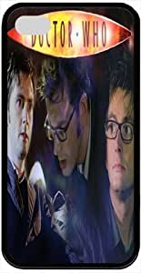 Popular Doctor Who Actor David Tennant Personalized Iphone 4 Cases Hard Rubber Case Cover