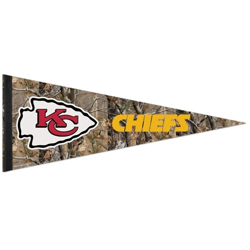 NFL 82977010 Kansas City Chiefs Premium Pennant, 12'' X 30'' by WinCraft