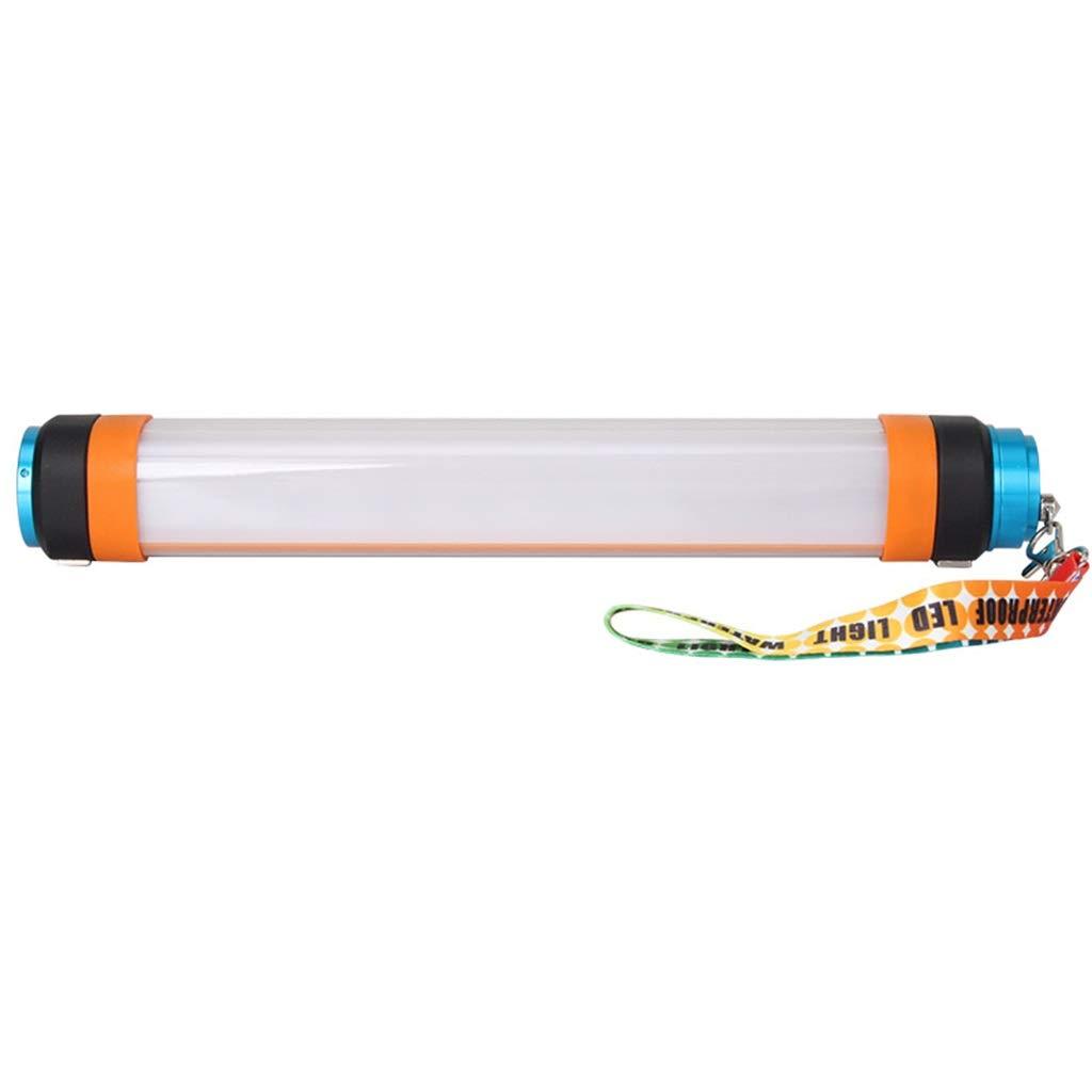 FTD Continuous Taschenlampe, LED Licht Fischen Aufladung Suchscheinwerfer Nacht Abweisend Draussen Camping Super Hell Notfall Multifunktion Wasserdicht Laternen Long Service Life