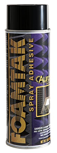 Auralex FoamTak Adhesive Spray for Acoustic Studio Foam