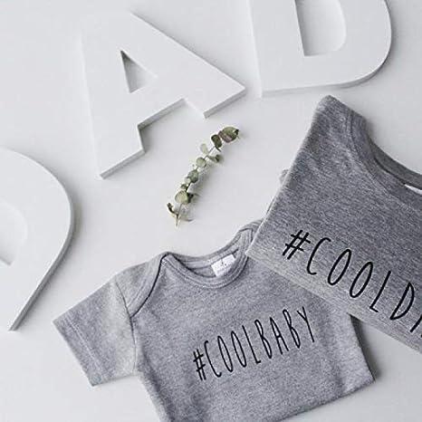 Regalo para padres y bebés - Pack regalo camiseta y body 100 ...