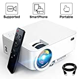 Best Mini Projectors - Mini Projector - 1080P Portable Video Projector Supported Review