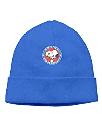 Snoopy For President Cool Skull Cap Knit Hat