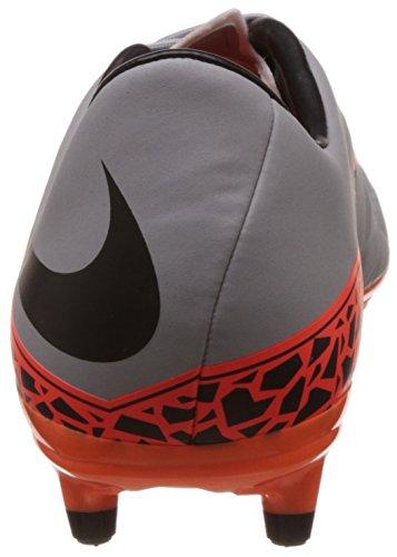 Nike Herren Hypervenom Phelon II FG Laufschuhe Grau (Grau/Orange)