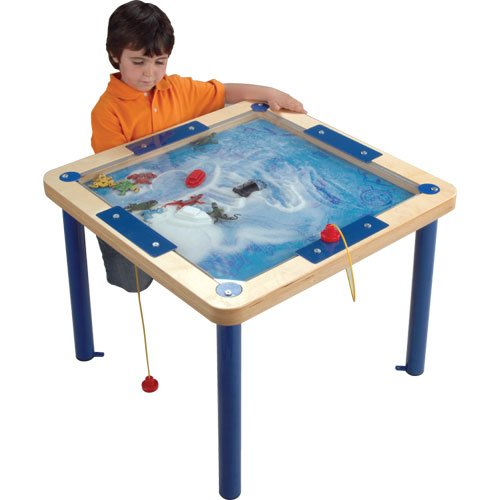 (Hape Happy Trails Magnetic Sand Table)
