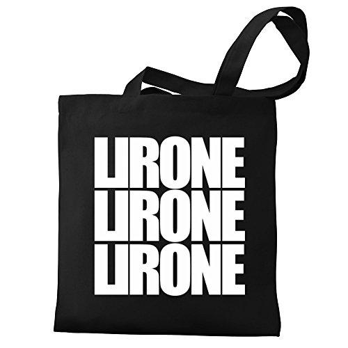 Eddany Lirone three words Bereich für Taschen