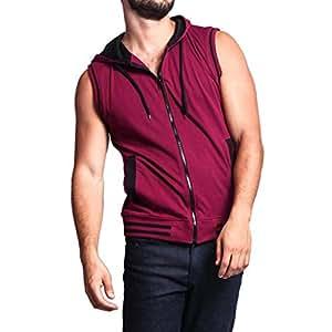 Amazon.com: YKARITIANNA Fashionable Mens Vest Jacket ...