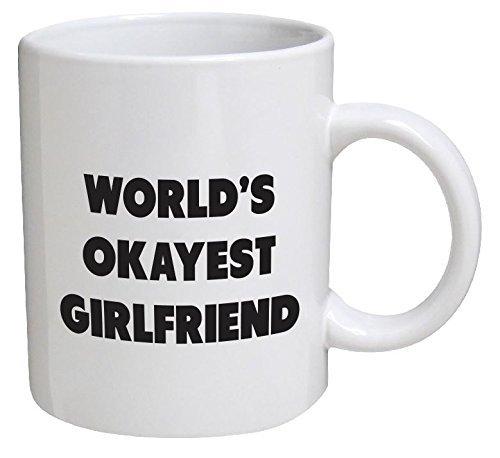 Funny Mug Okayest Girlfriend Inspirational product image