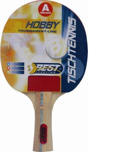 Best Sport Hobby Table Tennis Bat - Multi-Colour by Best Sport by Best sport