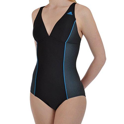 adidas Performance Infinitex Womens Swimming Swimsuit Costume - 30