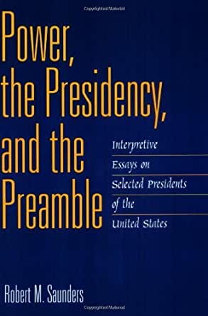 the degree of the presidents power essay Free essay: power of the american president the founding fathers of  within  the us a degree of economic power has been asserted by congress, and always .