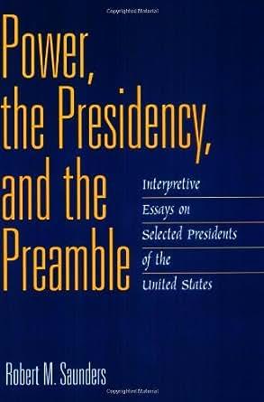 essays on power and politics