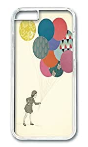 Apple Iphone 6 Case,WENJORS Awesome Party Girl Hard Case Protective Shell Cell Phone Cover For Apple Iphone 6 (4.7 Inch) - PC Transparent