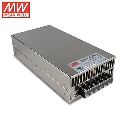 Meanwell SE-600-12 600W 50A 12V AC to DC Single Output Power Supply