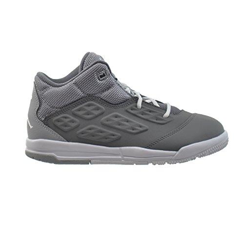 Jordan New School BP Little Kids Shoes Cool Grey/White-Wolf