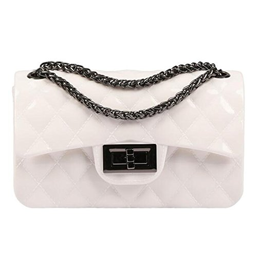 For Skin Pu Bag Messenger Metal Lozenge Bags Clutch Women Mini Crossbody off Byd Woman Bag Cabinet And Shoppers white Shoulder Soft Shoulder vZFTxCT7nq
