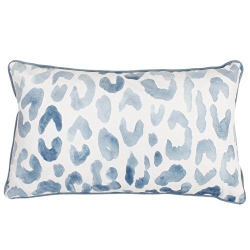 Thro by Marlo Lorenz Miron Cheetah Throw Pillow, Arizona Blue (Bedding Blue Cheetah)