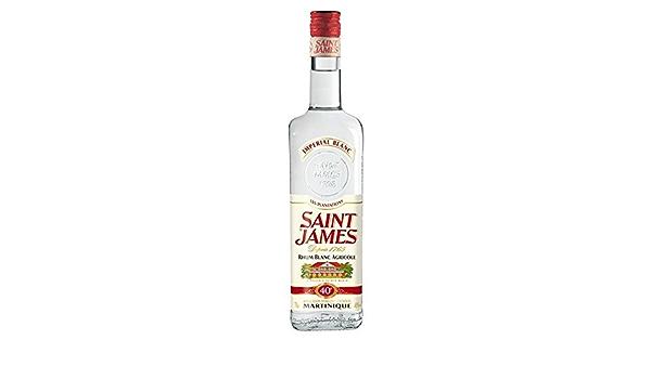 Ron blanco Imperial James James 40 ° 70 cl: Amazon.es ...