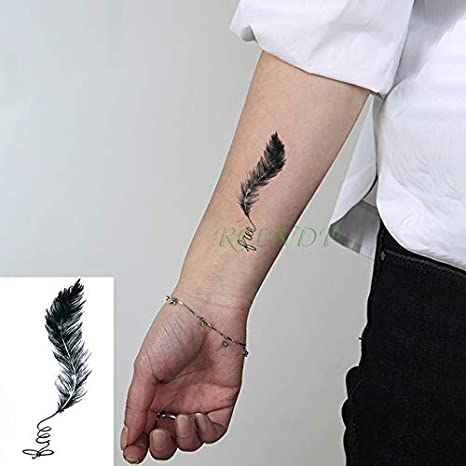 ljmljm Cráneo 5pcs Tatuaje Impermeable Etiqueta engomada Sun ...