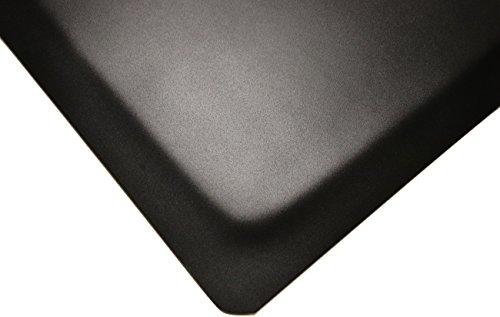 "Rhino Mats HDT24X4 Heavy Duty Top Anti-Fatigue Mat, 2' x 4', 9/16"", Vinyl, Black"