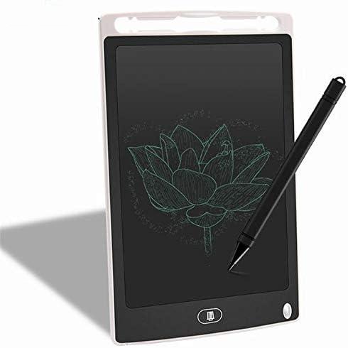 YKAIEET 8.5インチ光エネルギータブレットLCD液晶ディスプレイボード子供の落書き絵画教育オフィス小さな黒板描画光おもちゃで (色 : [White])