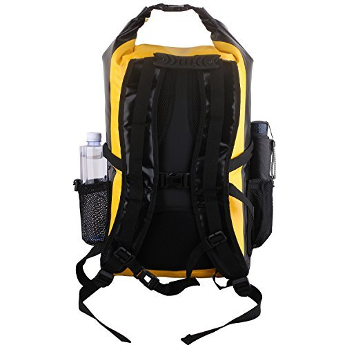 Vitchelo 30L Waterproof Dry Bag Backpack for Outdoor Water Sports Kayaking Camping - Fly Fishing & Boating Gifts for Men - 100% Tear-Free, Lifetime Kayak Storage Bag - Free Waterproof Phone Pouch by Vitchelo (Image #3)