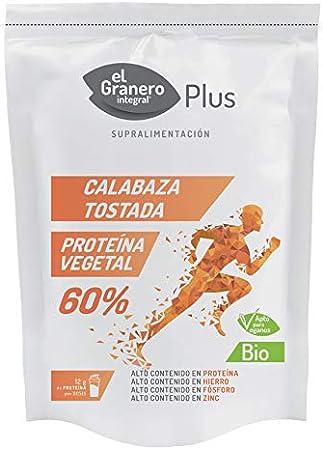 Proteína de Calabaza Tostada Bio, 150 g El Granero Integral ...
