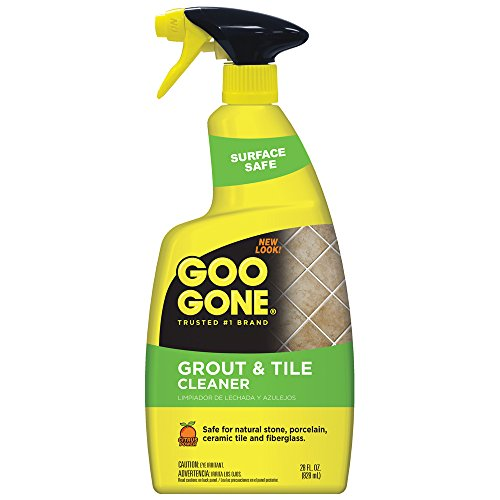 Goo Gone Grout & Tile Cleaner, Foaming Formula, Fast-Acti...