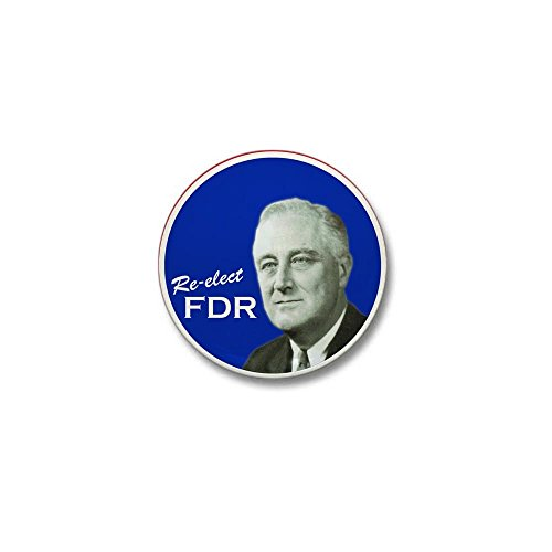 "CafePress FDR Mini Vintage Campaign Button 1"" Round Mini Button"