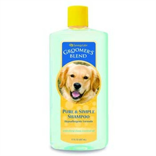 Synergy Groomer's Blend Pure and Simple Shampoo, 17.3 Ounce, My Pet Supplies