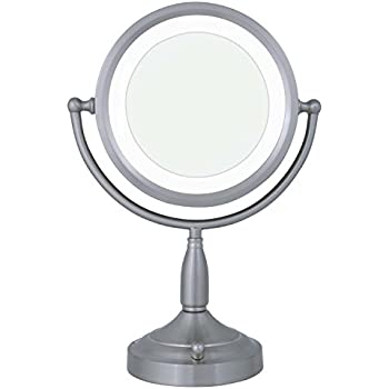 Amazon Com Zadro 8x 1x Dual Sided Lighted Vanity Mirror