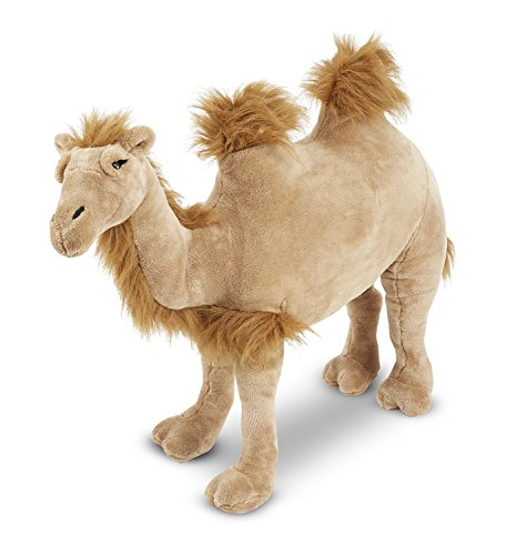 Melissa & Doug Giant Camel - Lifelike Stuffed Animal (nearly 3 feet long) (Puppet Camel)
