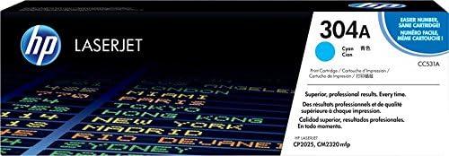 4-Confezione CP2025dn CM2320 mfp CP2025n Sizzler Compatibile 304A Toner Cartucce Sostituzione per HP CC530A CC531A CC532A CC533A Toner lavorare con HP Color LaserJet CM2320fxi CP2025 CM2320nf