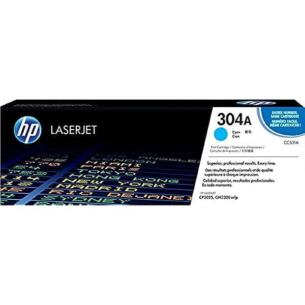 HP CC530A 304A Hewlett Packard Black Toner Cartridge Damged Open Box OEM