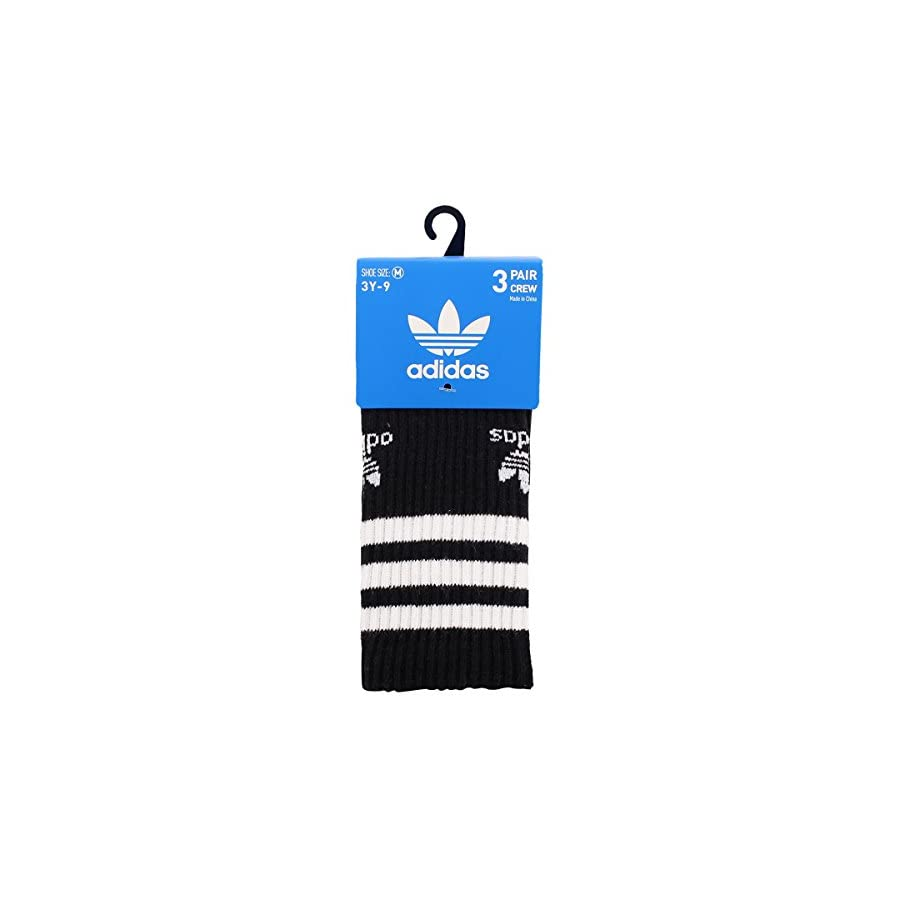 Adidas Youth Originals Crew Sock (3 Pack)