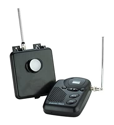 Dakota Alert MURS Wireless Motion Detection Kit, Base Station Radio by Dakota Alert, Inc.