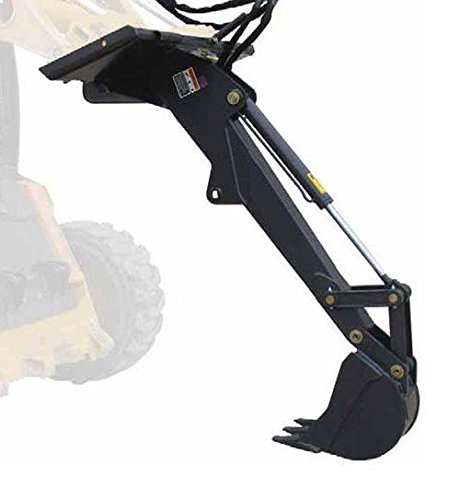 Titan Skid steer Backhoe Fronthoe excavator attachment bobcat skidsteer by Titan Attachments