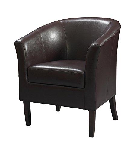Linon Simon Club Chair, Blackberry ()