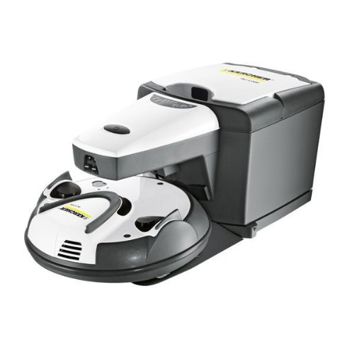 Kärcher RC4000 - Robot aspirador, 600 W, color gris: Amazon.es: Hogar
