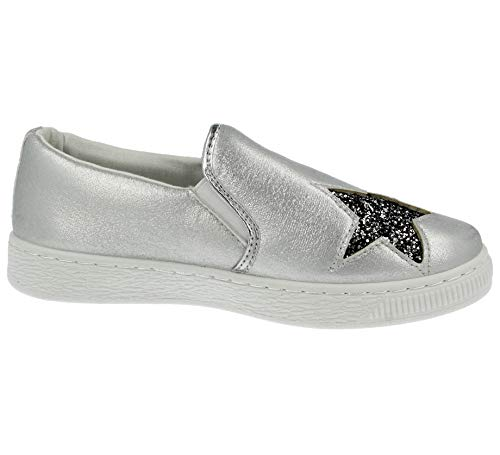 Silver Silver Donna Silver Footwear Sneaker Foster Sneaker Sneaker Foster Footwear Footwear Donna Foster Donna TqngFASw