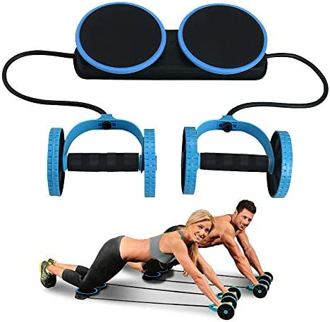 Darhoo Ab Roller Wheel Ab Wheel Exercise Fitness Equipment 5 In 1 Multi Functional Core Ab Workout Abdominal Wheel Machine Ab Roller Home Gym Equipment For Both Men Women Techtake
