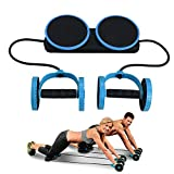 Darhoo Ab Roller Wheel – Ab Wheel Exercise Fitness Equipment – 5-in-1 Multi-Functional Core Ab Workout Abdominal Wheel Machine – Ab Roller Home Gym Equipment for Both Men & Women