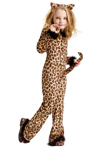 Child Pretty Leopard Costume (Small (4-6))