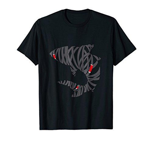 Mens Bjj Jiu Jitsu Belt Shark - Black Belt Large Black ()