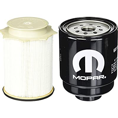 Dodge Ram 6.7 Liter Diesel Fuel Filter Water Separator Set Mopar OEM: Automotive