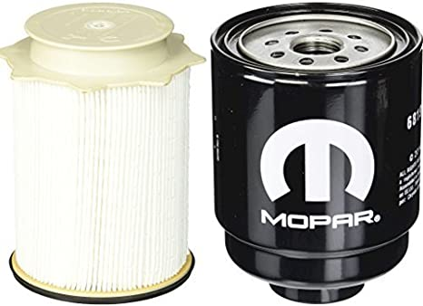 Amazon Com Dodge Ram 6 7 Liter Diesel Fuel Filter Water Separator Set Mopar Oem Automotive