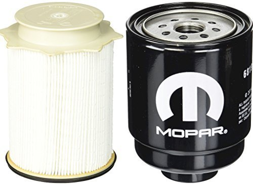 - Dodge Ram 6.7 Liter Diesel Fuel Filter Water Separator Set Mopar OEM